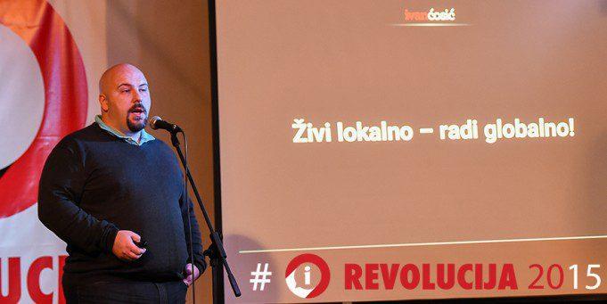 #iRevolucija2015: Ivan Ćosić - Živi lokalno, radi globalno
